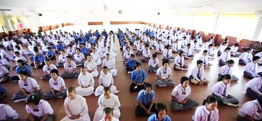 מדיטציה טרנסנדנטלית בתאילנד